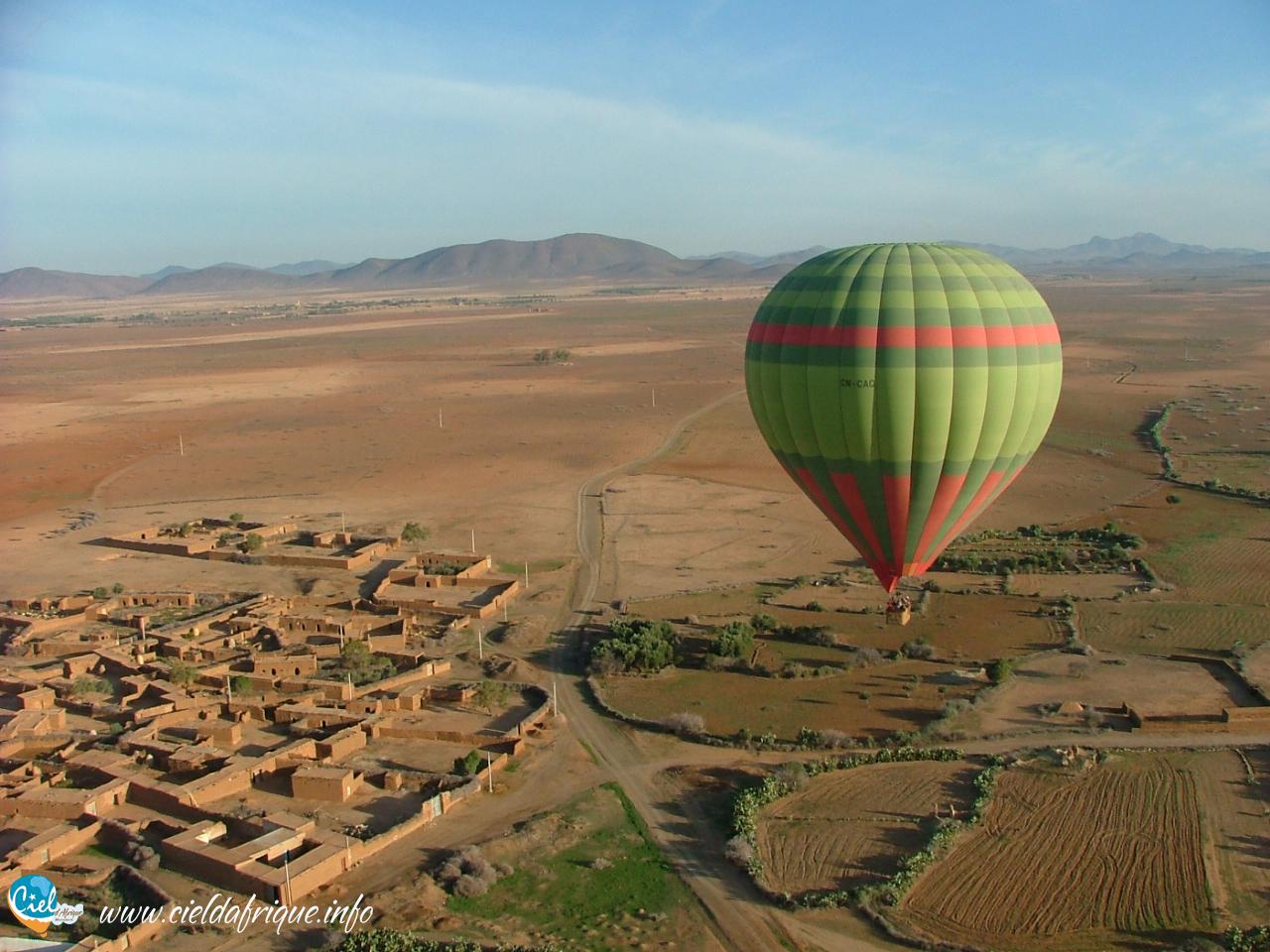 hot-air ballooning Morocco