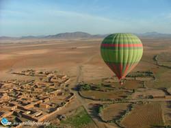 Montgolfière maroc