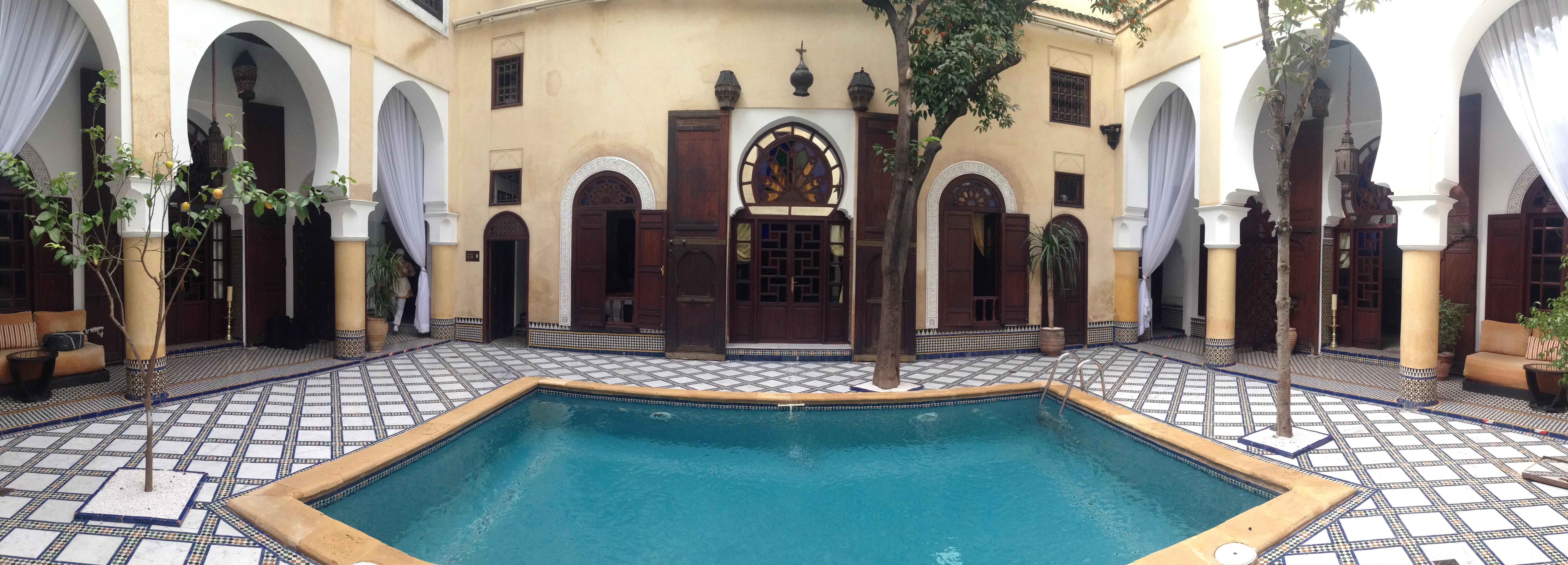 Fes Riad maison bleue Medina