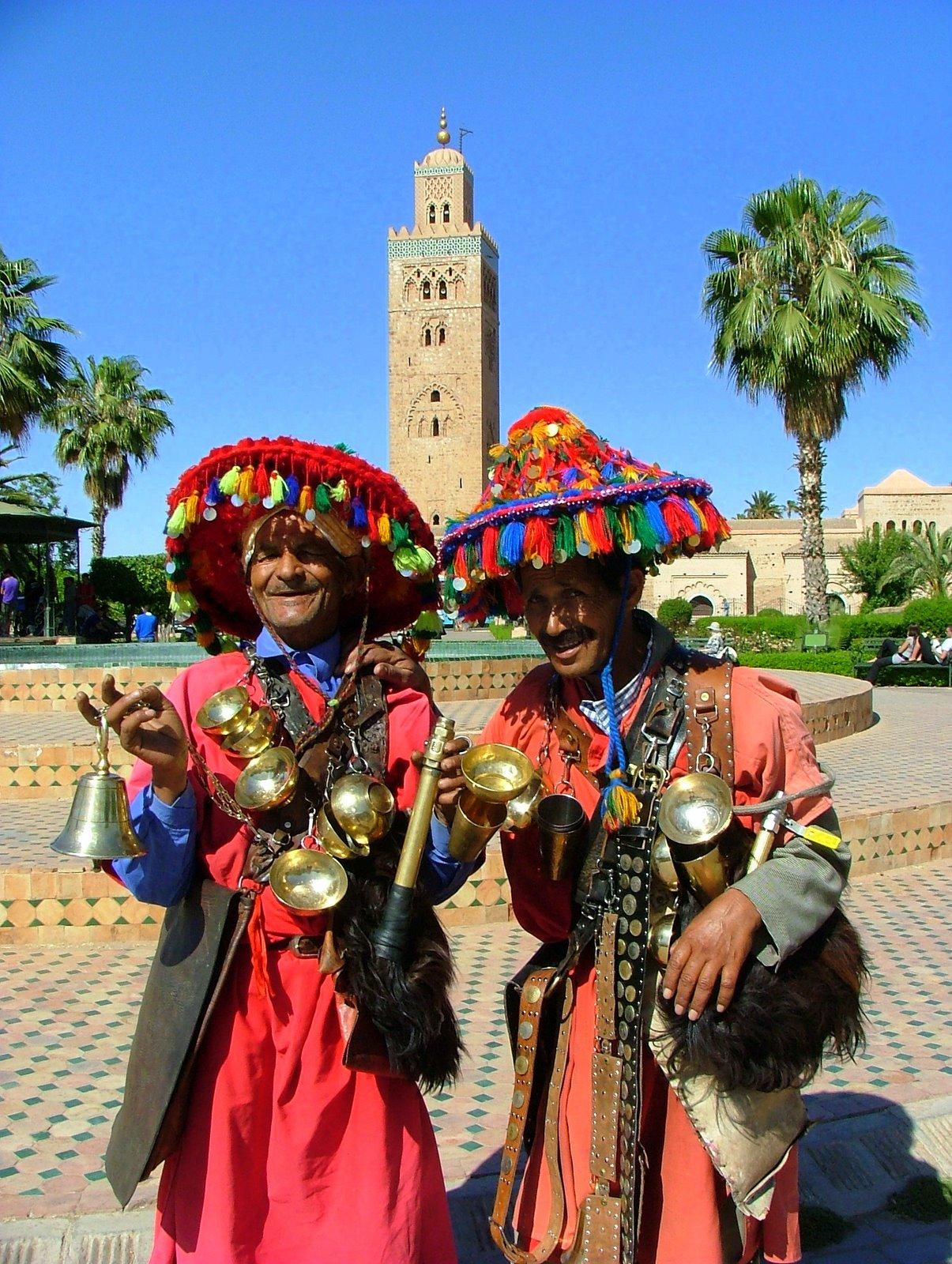 water men Marrakech
