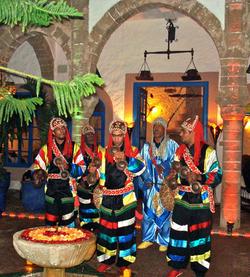 Marokko Folklore-Show