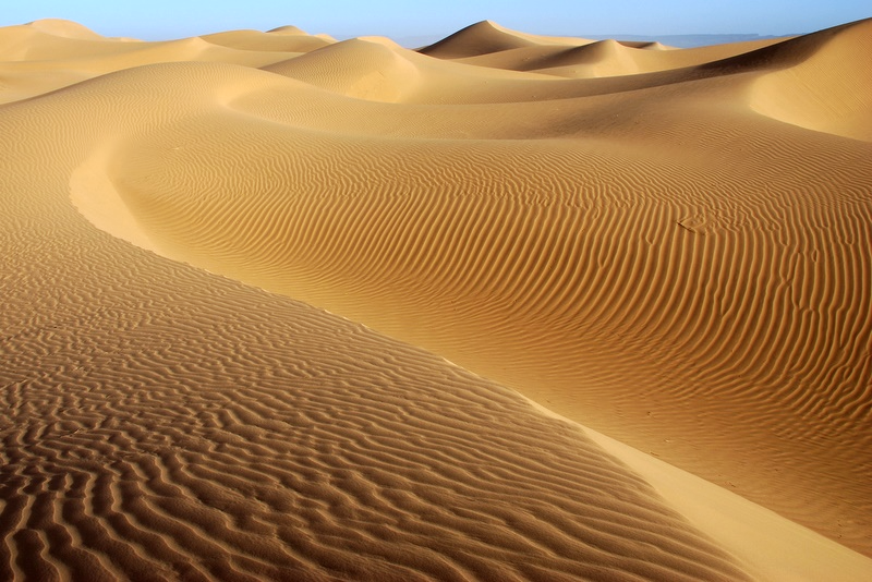 Mhamid désert blanc