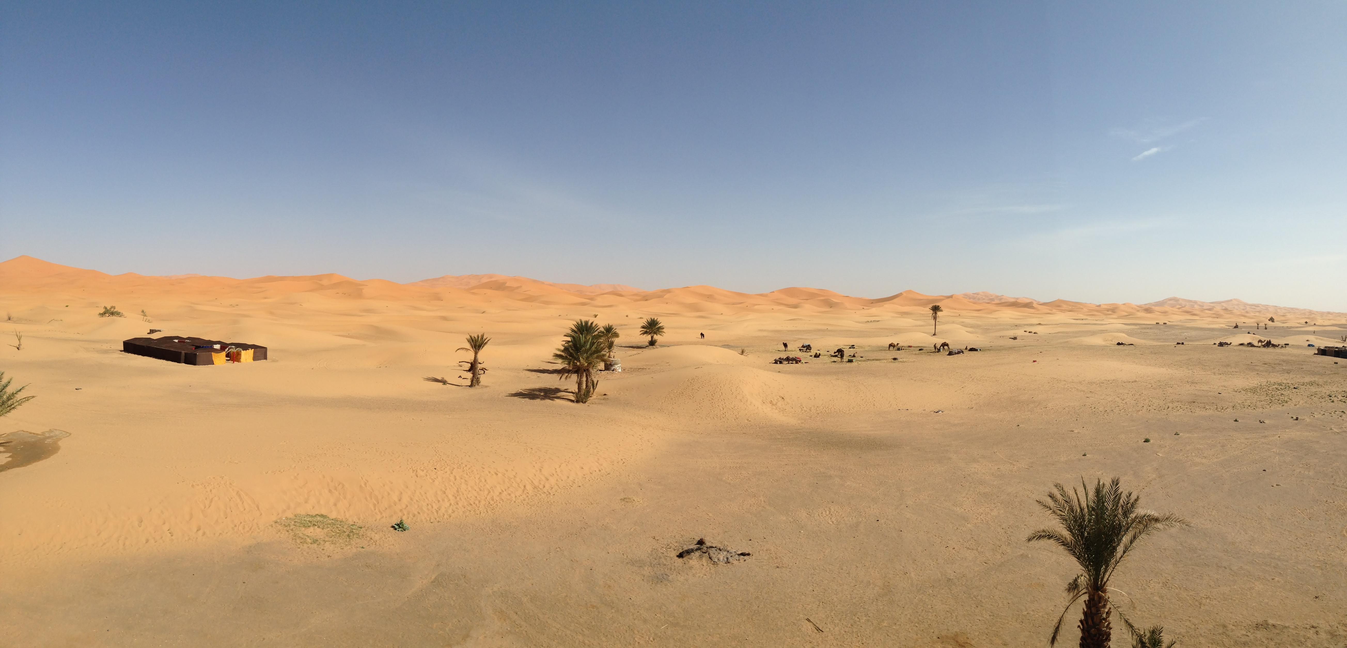 Merzouga Wüste
