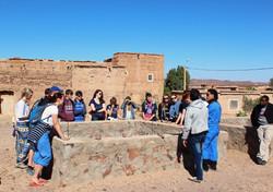 Bewässerungssystem Marokko