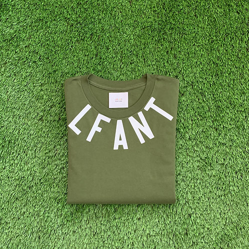 """Teaneck"" s/s tee by LFANT/Army Green"