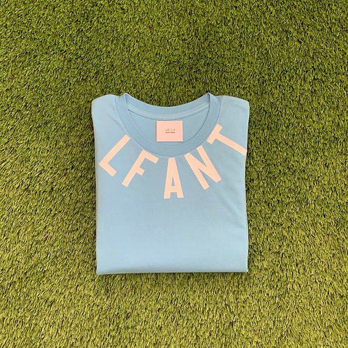 """Teaneck"" s/s tee by LFANT/ Carolina Blue"