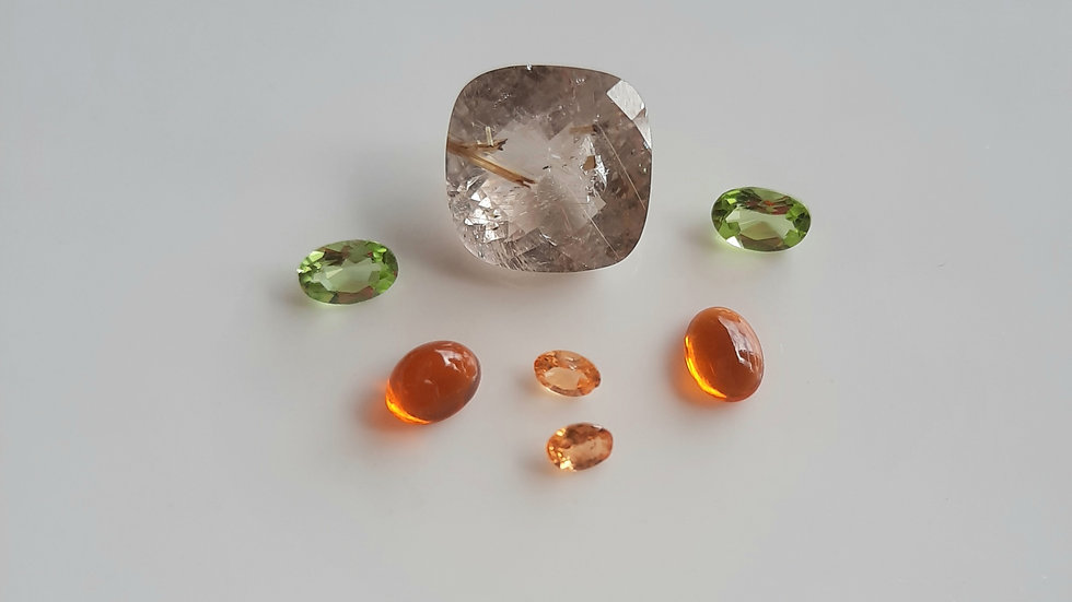 Mixed Gems Lot  24