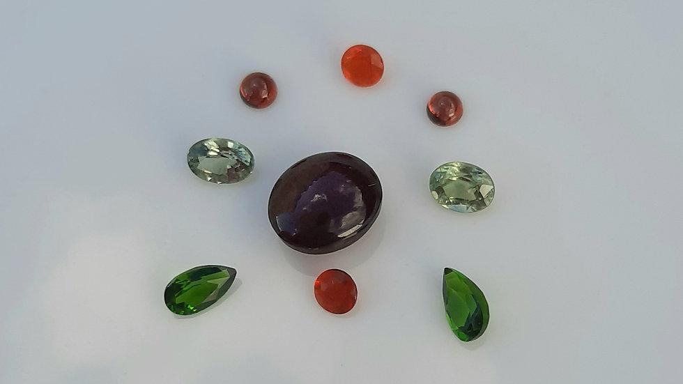 Mixed Gems Lot  34