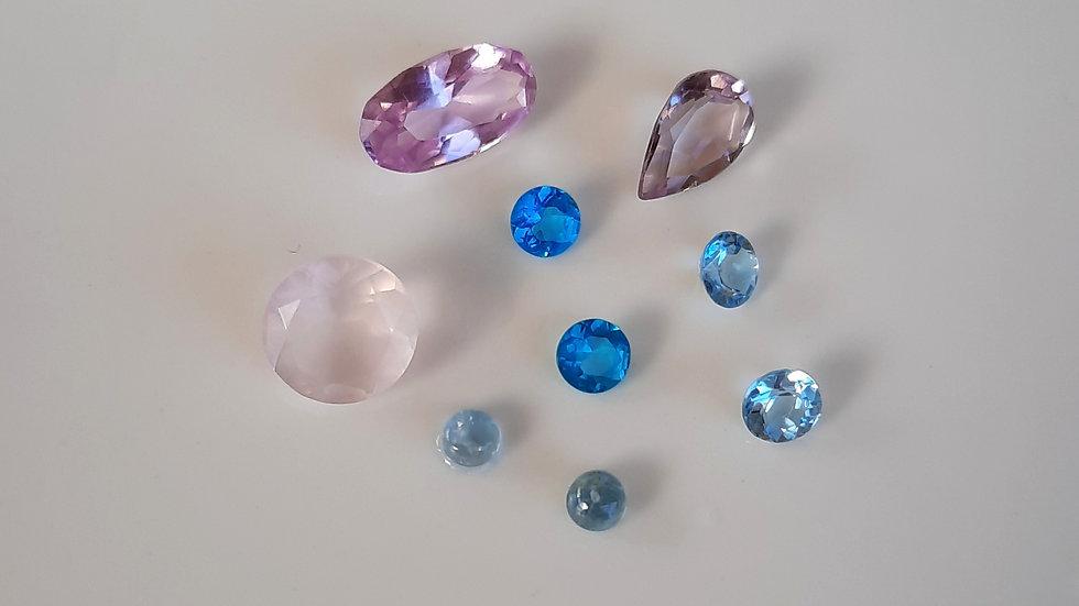Mixed Gems Lot  32
