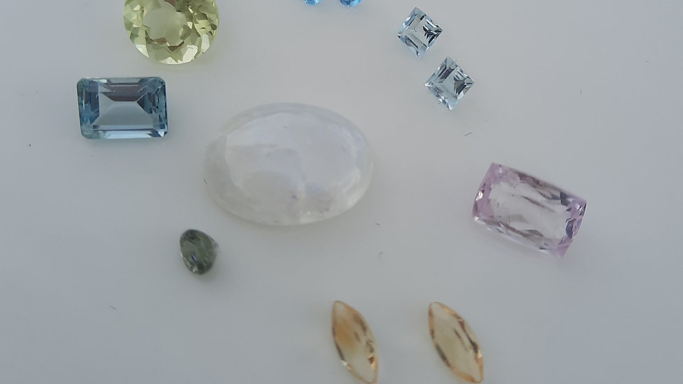 Mixed Gems Lot  5