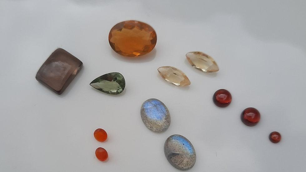 Mixed Gems Lot  3