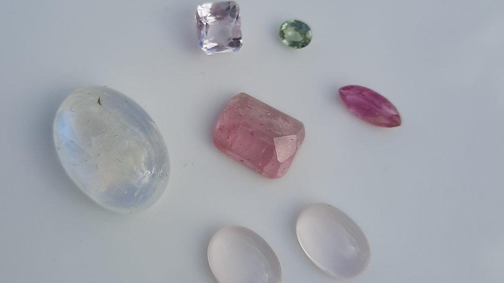 Mixed Gems Lot  4