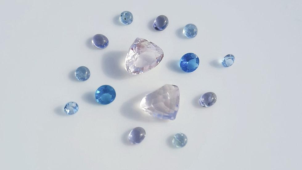 Mixed Gems Lot  28