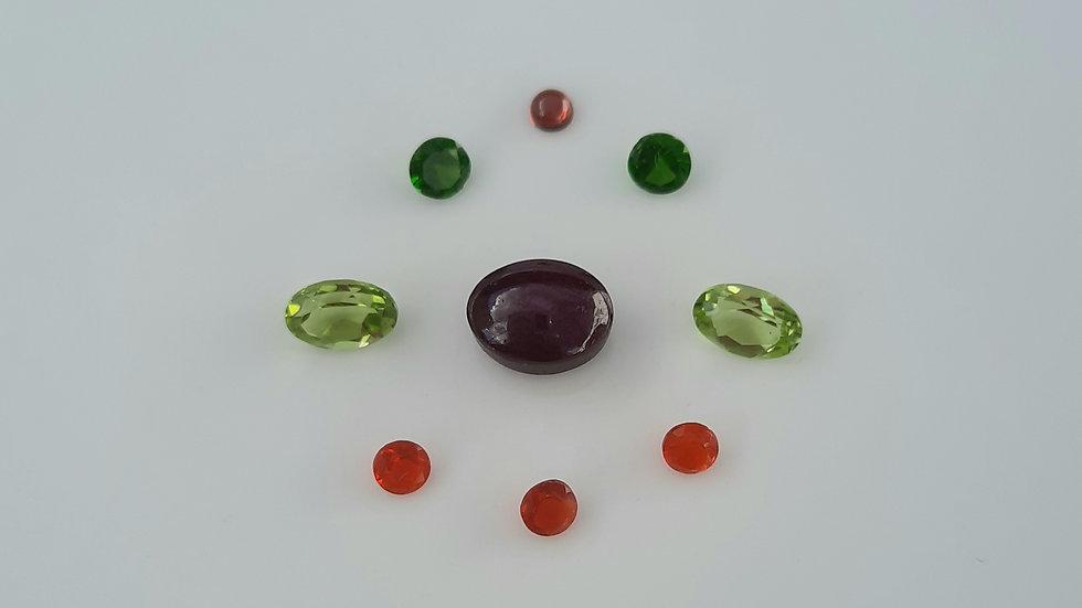 Mixed Gems Lot  35