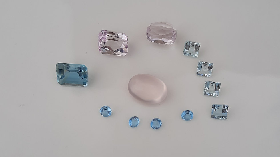 Mixed Gems Lot  18