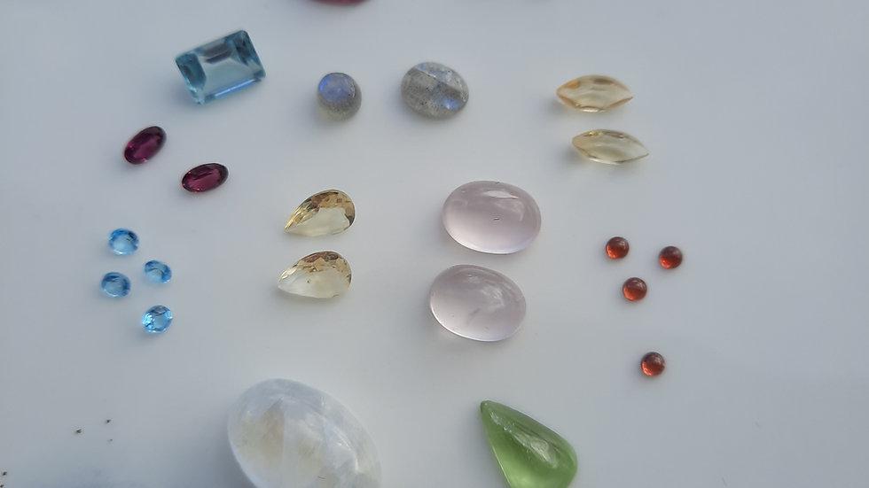 Mixed Gems Lot  1