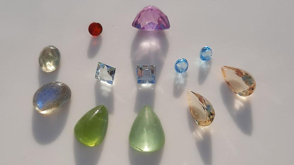 Mixed Gems Lot  20
