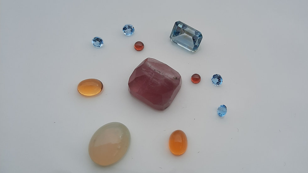 Mixed Gems Lot  7