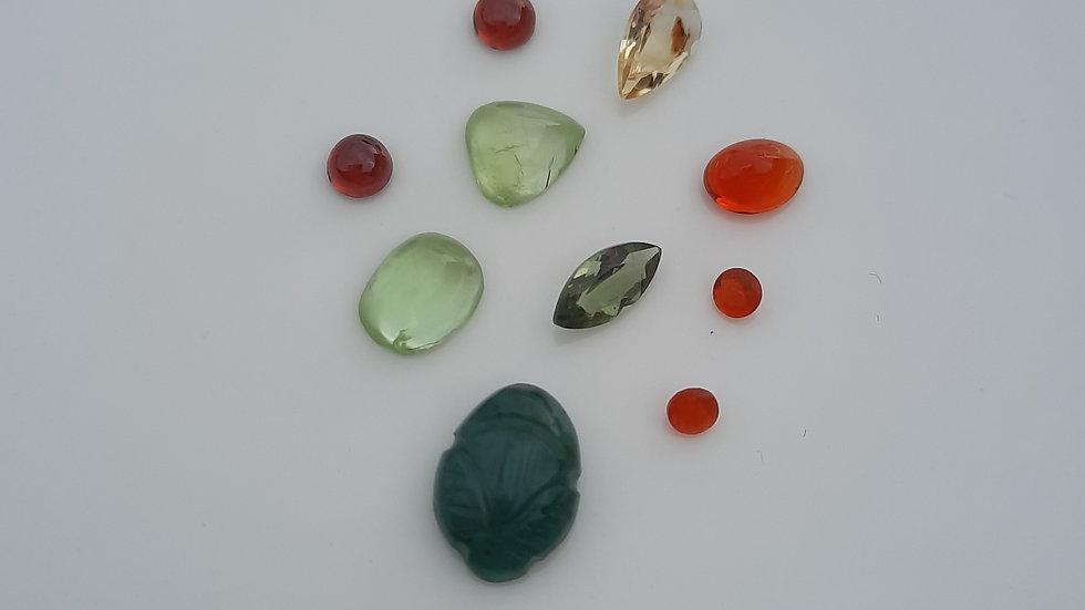 Mixed Gems Lot  8