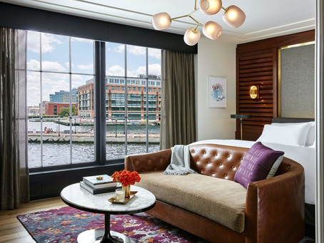 UnderArmour CEO opens luxury hotel in Baltimore