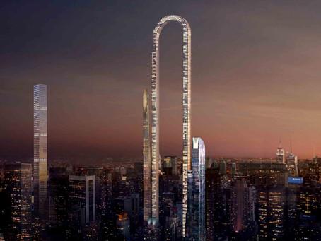 The Big Bend Tower turns Manhattan zoning laws sideways