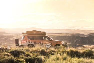 Nissan Armada Custom Mountain Patrol Overlander in Wyoming