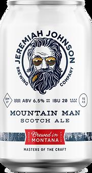 Jeremiah Johnson Brewing Company Mountain Man Craft Beer