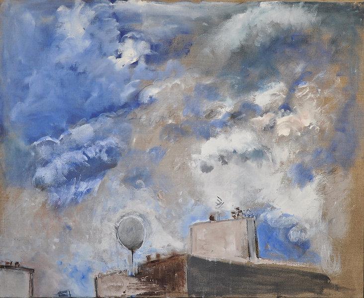 Liliane Klapisch_La tempête_2019 huile-