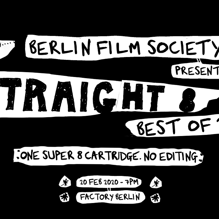 Sold out: Straight 8 – Best of Super 8 Short Films