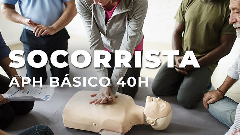 SOCORRISTA APH BÁSICO – 40H