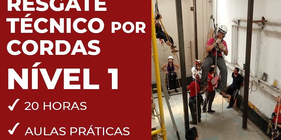 RESGATE TÉCNICO POR CORDAS NÍVEL 01