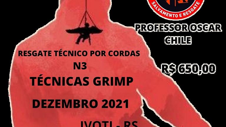 Resgate Técnico por Cordas N3 Técnicas Grimp
