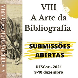 Chamada para Submissões ao Seminário Internacional A Arte da Bibliografia