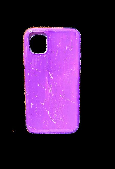 Lavender Splatter