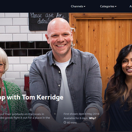 Top of the Shop with Tom Kerridge on air! / トップ・オブ・ザ・ショップ ウィズ トム・ケリッジ 放送!