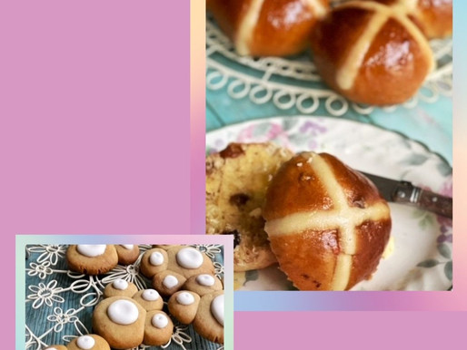 Hot cross buns & paw biscuits class