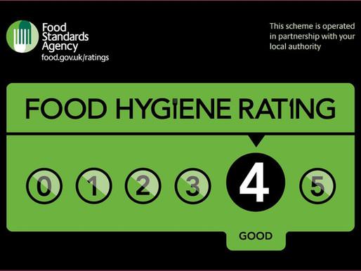 Regarding Food Hygiene Rating (食品衛生格付けについて)