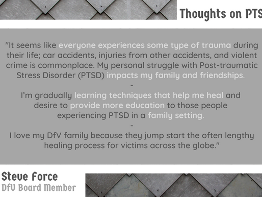 VALOR: Thoughts on PTSD from Steve Force