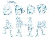 Sammy character dev.