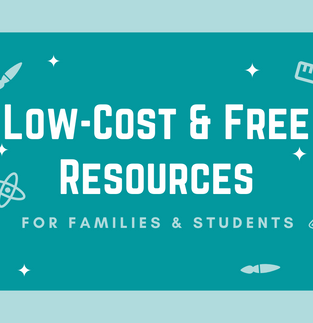 Low-Cost & Free Study Resources for Families & Students
