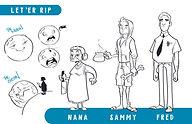 LER character lineup