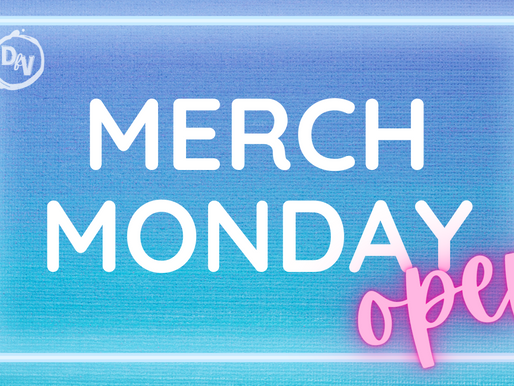 Merch Monday - Welcome to our Shop!