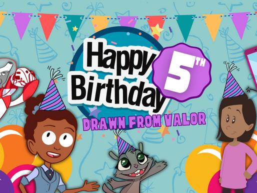 Happy 5th Birthday DfV!
