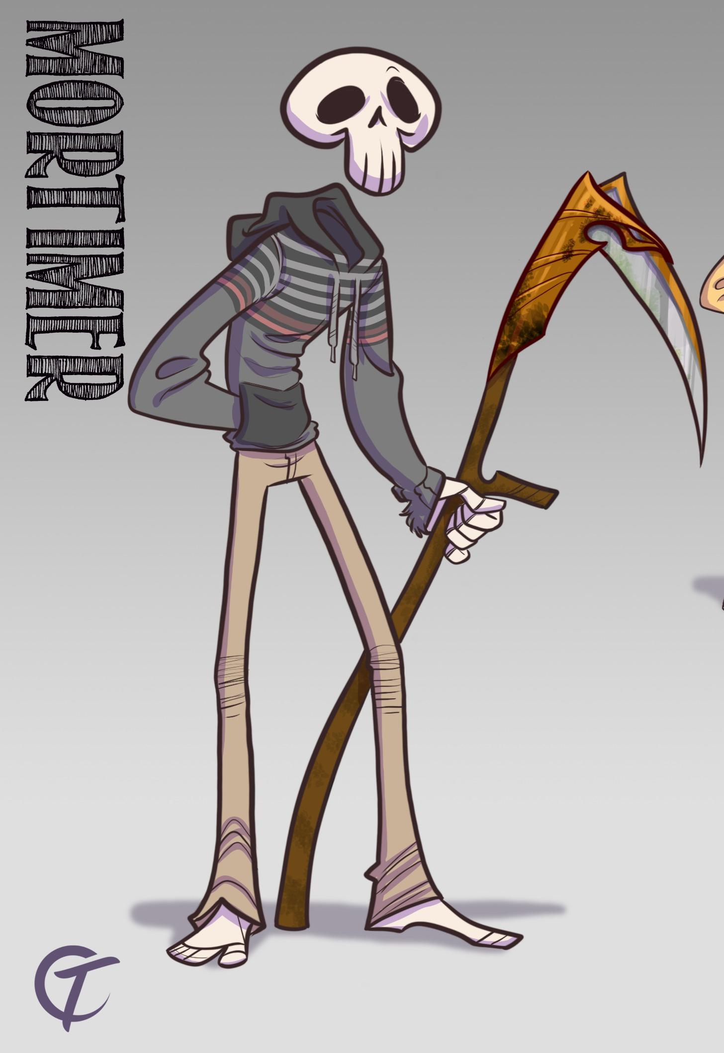 Mortimer Character Design