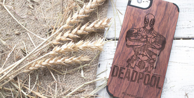 Чехол Дэдпул (на IPhone 5/5S/6/6S)