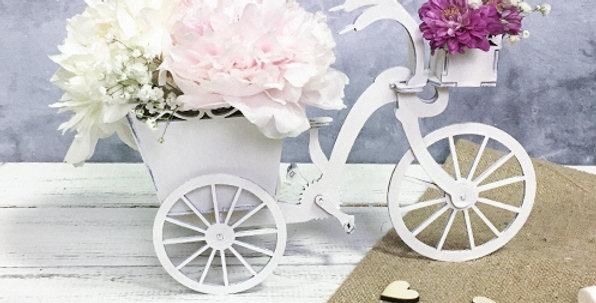Велосипед-цветочница