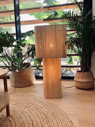 Lampe double // Lacet mordoré - Collection STRAIGHT