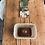 Thumbnail: Lampe, suspension ou applique rectangle // Lacet lin écru - Collection STRAIGHT