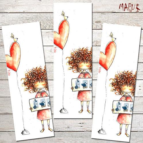 CURLY HAIR - Bookmark