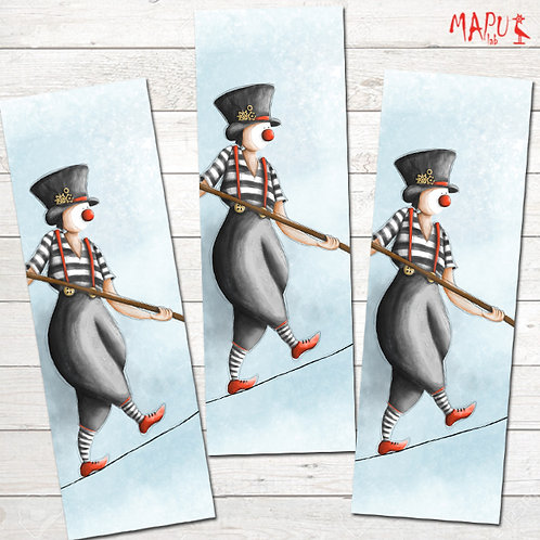 MIME ON A ROPE - Bookmark